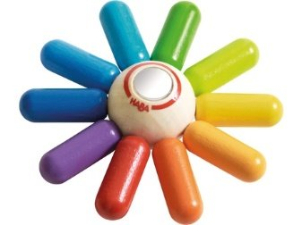 Hochet HABA soleil multicolore